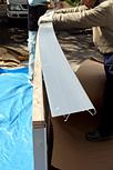 曲面黒板施工例8