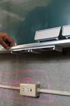 曲面黒板施工例12